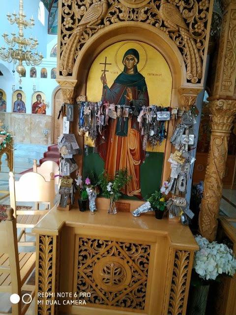 Πολύ όμορφη η προσκυνηματική εκδρομή της ενορίας ΠΛΑΓΙΑΣ στο μοναστήρι της Αγίας Παρασκευής στο Καναλάκι! - Φωτογραφία 7