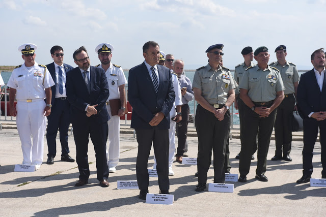 Επίσκεψη ΥΕΘΑ Νικόλαου Παναγιωτόπουλου στην Αλεξανδρούπολη - Φωτογραφία 5