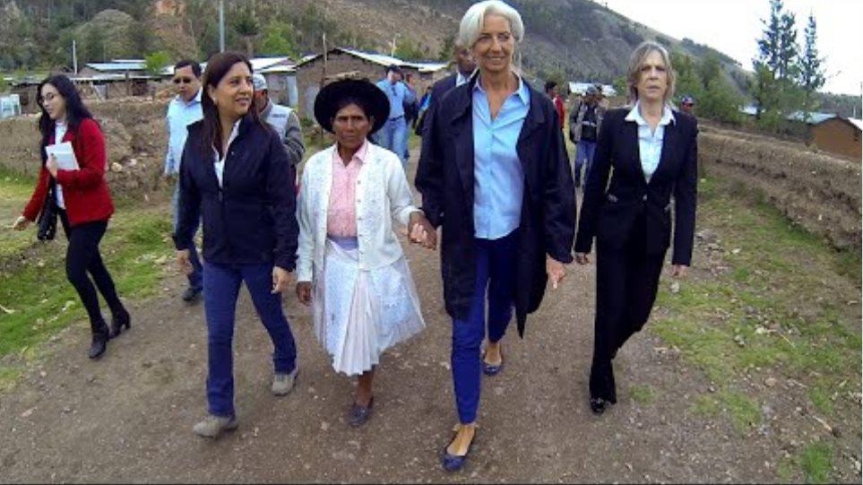Το ΔΝΤ αποχαιρετά με βίντεο την Κριστίν Λαγκάρντ - Φωτογραφία 2