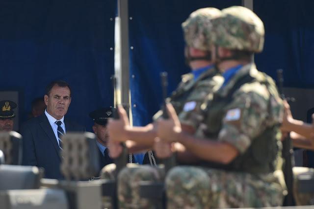 Το μήνυμα του υπουργού Άμυνας στην Τουρκία: Να πάψουν οι έκνομες και βάρβαρες συμπεριφορές - Φωτογραφία 1
