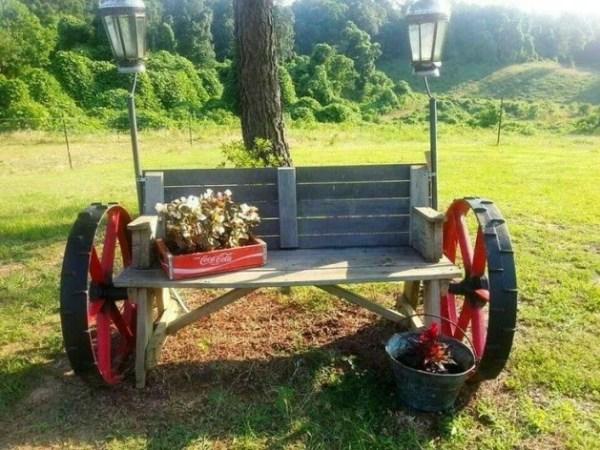 ΚΑΤΑΣΚΕΥΕΣ - Τα πιο Καταπληκτικά DIY Παγκάκια για τον κήπο σας - Φωτογραφία 1