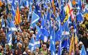 Στους δρόμους χιλιάδες Σκωτσέζοι, διαδηλώνουν υπέρ της ανεξαρτησίας τους