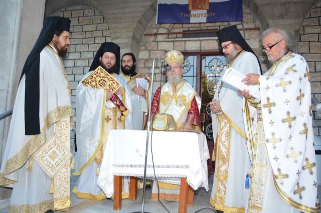 Εγκαίνια  Ιερού  Ναού  Αγίου  Αθανασίου  Γιαννουζίου - Φωτογραφία 1