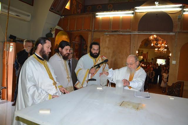 Εγκαίνια  Ιερού  Ναού  Αγίου  Αθανασίου  Γιαννουζίου - Φωτογραφία 12