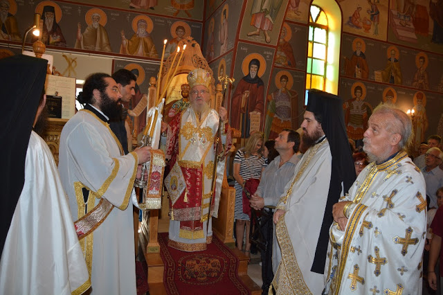 Εγκαίνια  Ιερού  Ναού  Αγίου  Αθανασίου  Γιαννουζίου - Φωτογραφία 14