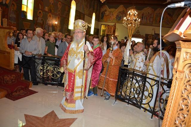 Εγκαίνια  Ιερού  Ναού  Αγίου  Αθανασίου  Γιαννουζίου - Φωτογραφία 3