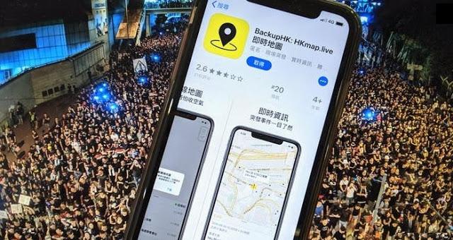 Η Κίνα κατηγορεί την Apple ότι προστατεύει τους διαδηλωτές στο Χονγκ Κονγκ - Φωτογραφία 1