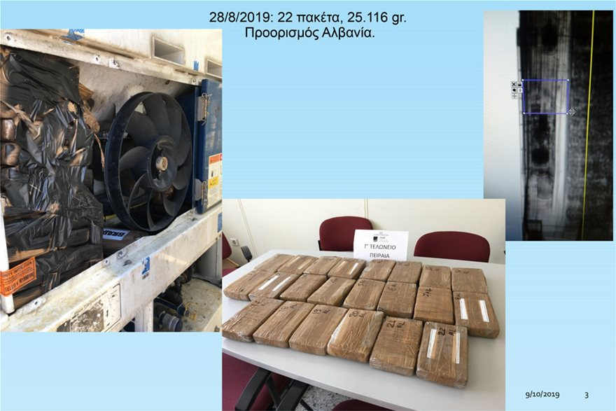 Λιμάνι Πειραιά: 700 κιλά κοκαΐνης σε… φορτίο με μπανάνες - Φωτογραφία 5