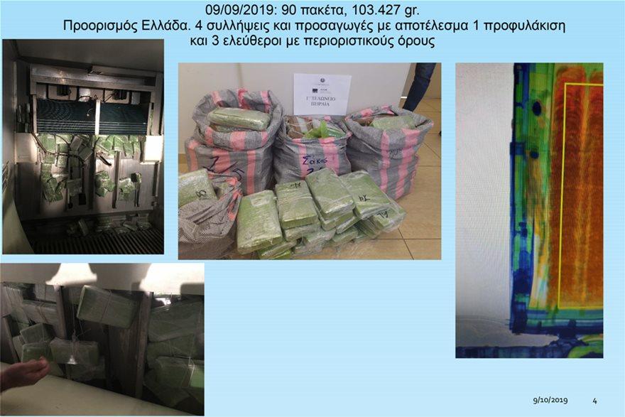 Λιμάνι Πειραιά: 700 κιλά κοκαΐνης σε… φορτίο με μπανάνες - Φωτογραφία 6