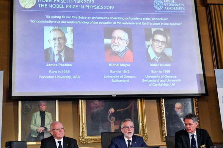 Νόμπελ Φυσικής για την εξέλιξη του Σύμπαντος - Φωτογραφία 1
