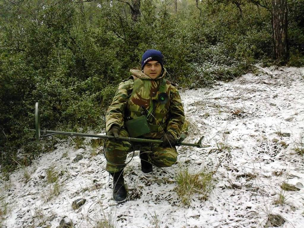 Η Ανδραβίδα αποχαιρετά τον Επιλοχία της, Πέτρο Αλεξανδρόπουλο - Φωτογραφία 1
