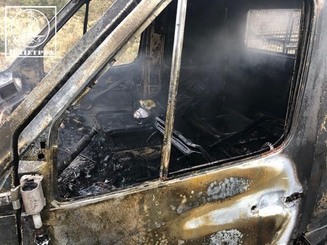 Κάηκε ολοσχερώς φορτηγό με κοτόπουλα στην Αμφιλοχία - [ΦΩΤΟ] - Φωτογραφία 11