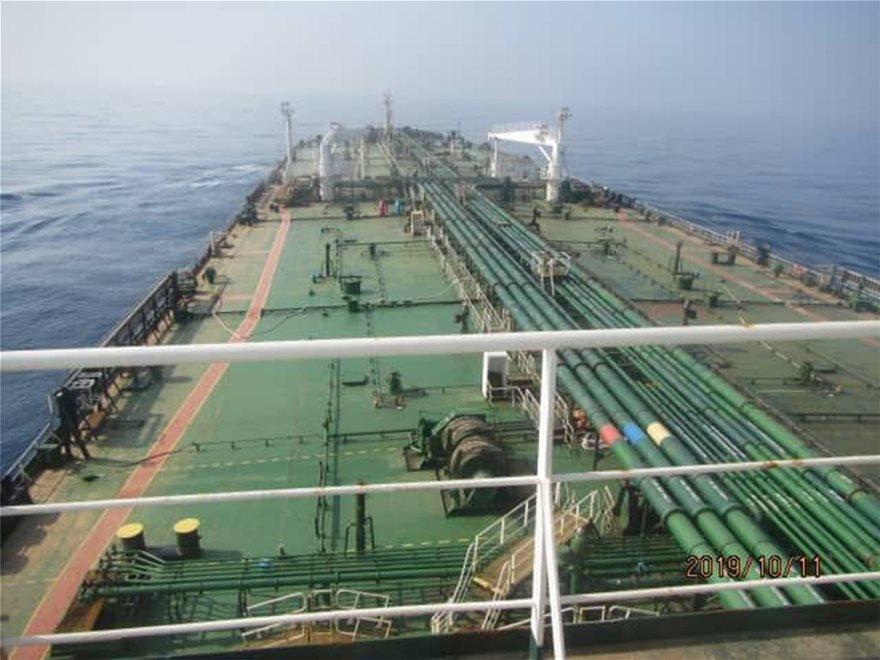 Ερυθρά Θάλασσα: Στις φλόγες ιρανικό τάνκερ - Φωτογραφία 5