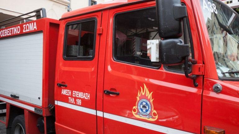 Νέα πυρκαγιά σε εργοστάσιο ανακύκλωσης στη δυτική Θεσσαλονίκη - Φωτογραφία 1