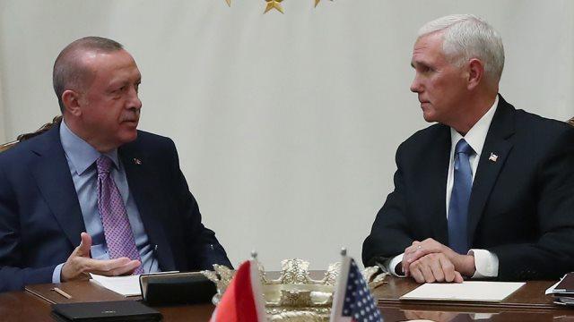 Συμφωνία ΗΠΑ - Τουρκίας: Κατάπαυση πυρός στη Συρία για 120 ώρες - Φωτογραφία 1
