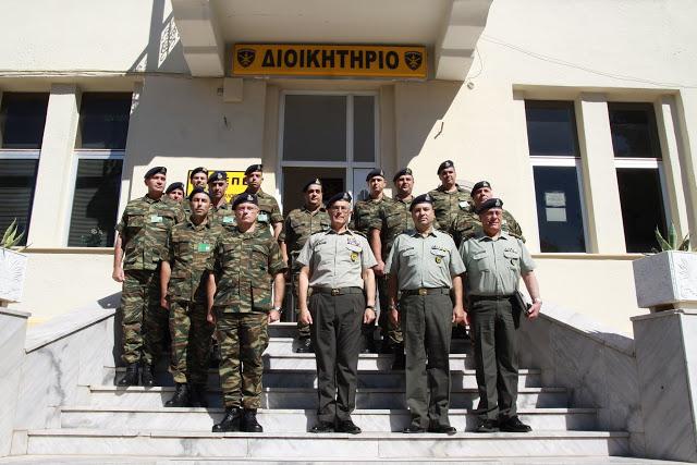 Επίσκεψη Αρχηγού Γενικού Επιτελείου Στρατού στο Κέντρο Εκπαιδεύσεως Πυροβολικού και Υλικού Πολέμου - Φωτογραφία 1