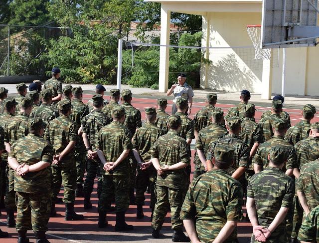 Επίσκεψη Αρχηγού Γενικού Επιτελείου Στρατού στο Κέντρο Εκπαιδεύσεως Πυροβολικού και Υλικού Πολέμου - Φωτογραφία 4