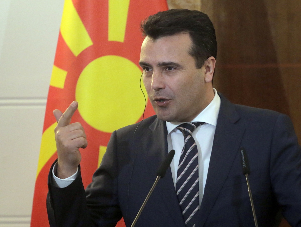 Ραγδαίες εξελίξεις στα Σκόπια: Ο Ζάεφ σκέφτεται να παραιτηθεί - Φωτογραφία 1