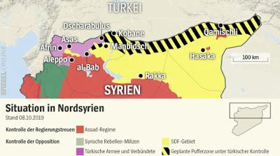 Spiegel: Η Ευρώπη είναι αδύναμη να σταματήσει τις επιχειρήσεις της Τουρκίας στη Συρία.. - Φωτογραφία 1