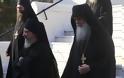 12630 - Φθάνουν οι Ηγούμενοι και Αντιπρόσωποι των Μονών στις Καρυές για την Επίσημη Υποδοχή του Πατριάρχη - Φωτογραφία 6