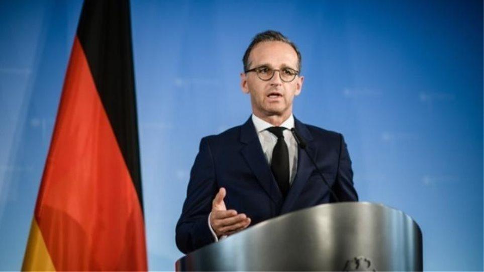 Γερμανία: Η εισβολή της Τουρκίας στη Συρία δεν είναι σύμφωνη με το διεθνές δίκαιο - Φωτογραφία 1