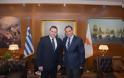 Συνάντηση ΥΕΘΑ κ. Νικόλαου Παναγιωτόπουλου με τον Πρέσβη της Κυπριακής Δημοκρατίας κ. Κυριάκο Α. Κενεβέζο