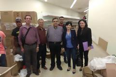 Στο Κοινωνικό Παντοπωλείο Αγρινίου η Αντιπεριφερειάρχης Μαρία Σαλμά για το Πρόγραμμα Επισιτιστικής και Βασικής Υλικής Συνδρομής