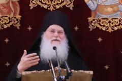 12657 - Ομιλία του Ηγουμένου Αρχιμ. Εφραίμ Βατοπαιδινού στον Ιερό Ναό Αγίου Δημητρίου στο Μπραχάμι