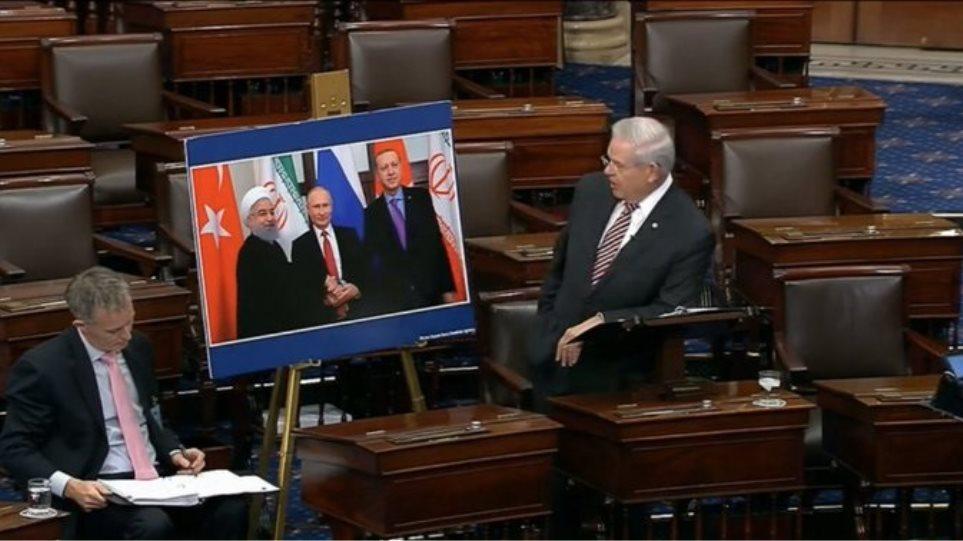 Έκκληση Μενέντεζ για να ακυρωθεί η επίσκεψη Ερντογάν στον Λευκό Οίκο - Φωτογραφία 1
