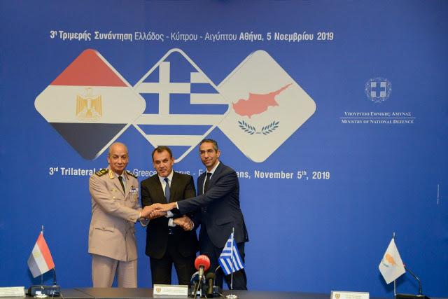 Ολοκλήρωση 3ης Τριμερούς Συναντήσεως Ελλάδος – Κύπρου – Αιγύπτου - Φωτογραφία 1