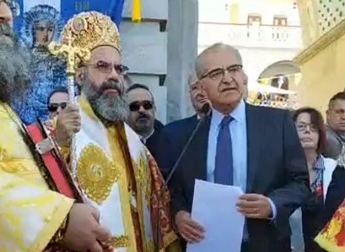 Στον Πανορμίτη ο υφυπουργός Εξωτερικών Αντώνης Διαματάρης - Φωτογραφία 1