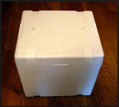 ΚΑΤΑΣΚΕΥΕΣ - Μετάτρεψε ένα φορητό ψυγείο από φελιζολ σε σκαμπό! - Φωτογραφία 1