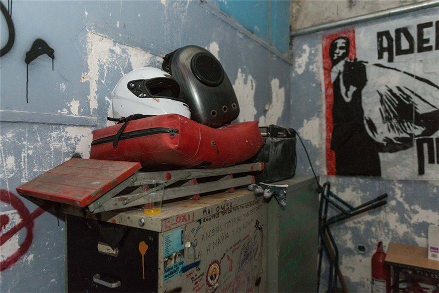 ΑΣΟΕΕ: Βρήκαν «επιχειρησιακό στρατηγείο» στο υπόγειο - Φωτογραφία 10