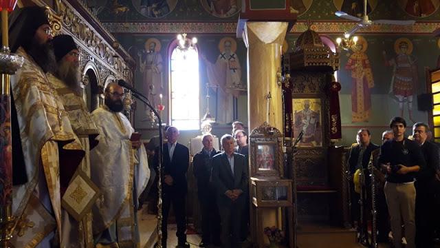 Ευλόγησον… Στα ΠΑΛΙΑΜΠΕΛΑ Βόνιτσας λειτούργησε ο ηγούμενος της Ιεράς Μονής Εσφιγμένου Αγίου Όρους Γέροντας Βαρθολομαίος - [ΦΩΤΟ: Στέλλα Λιάπη] - Φωτογραφία 5