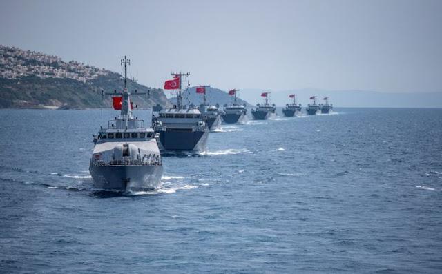 Η Άγκυρα με παράνομη NAVTEX δεσμεύει το Ικάριο Πέλαγος: Οι Τούρκοι με ΝΑΤΟϊκό μανδύα θέλουν τον έλεγχο του Αιγαίου - Φωτογραφία 1