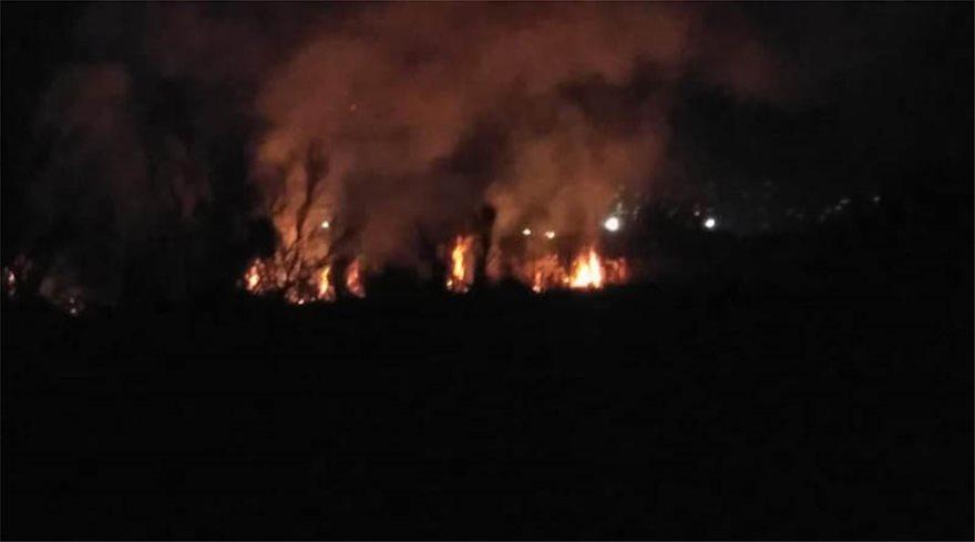 Μαραθώνας: Υπό έλεγχο η φωτιά που ξέσπασε σε δύσβατο σημείο - Φωτογραφία 3