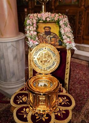 Αγρυπνία για την εορτή του Αγίου Γρηγορίου του Παλαμά και της Αγίας Οικογενείας αυτού στην Παναγία Δοβρά - Φωτογραφία 1
