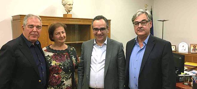 Συνάντηση της Επιστημονικής Ιατρικής Κοινότητας Γενικής/Οικογενειακής Ιατρικής με τον Υφυπουργό Υγείας - Φωτογραφία 1