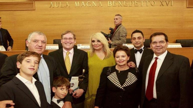 Εμβληματική η «Ελληνική επιστήμη» στα Διεθνή Βραβεία Giuseppe Sciacca 2019 στο Βατικανό - Φωτογραφία 1