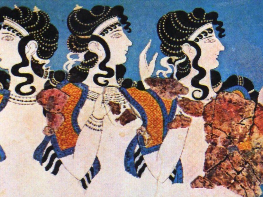Πώς απεικονίζονταν στις τοιχογραφίες κατά την εποχή του χαλκού οι γυναίκες ανά την Ελλάδα; - Φωτογραφία 1