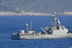 Η πυραυλάκατος «Μπλέσσας ΙΙ» περιπολεί στο Καστελόριζο (φωτο)