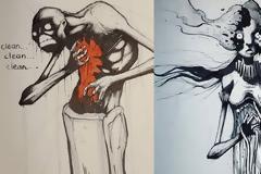 Οι ψυχικές διαταραχές μέσα από συγκλονιστικά σκίτσα.