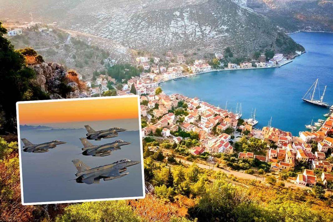 «Σβήνουν» και πάλι το Καστελόριζο από τον χάρτη οι Τούρκοι - Φωτογραφία 1