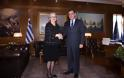 Συνάντηση ΥΕΘΑ κ. Νικολάου Παναγιωτόπουλου με την Πρέσβη της Αυστρίας κ. Ερμίνα Πόπελερ