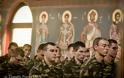 Το Σύμβολο της Πίστεως ανέγνωσε ο Διοικητής της 1ης Μεραρχίας Υποστράτηγος Σάββας Κολοκούρης - Φωτογραφία 45