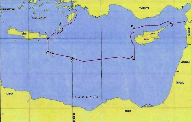 Στη δημοσιότητα ο χάρτης της συμφωνίας Τουρκίας-Λιβύης: «Εξαφάνισαν» το Καστελόριζο – Άγκυρα: «Η Αθήνα συνεργάζεται με τον Χαφτάρ» (upd) - Φωτογραφία 1