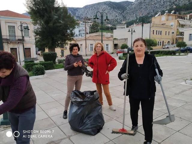 Δράση εθελοντικού καθαρισμού της ΚΕΝΤΡΙΚΗΣ ΠΛΑΤΕΙΑΣ στον ΑΣΤΑΚΟ - [ΦΩΤΟ] - Φωτογραφία 1