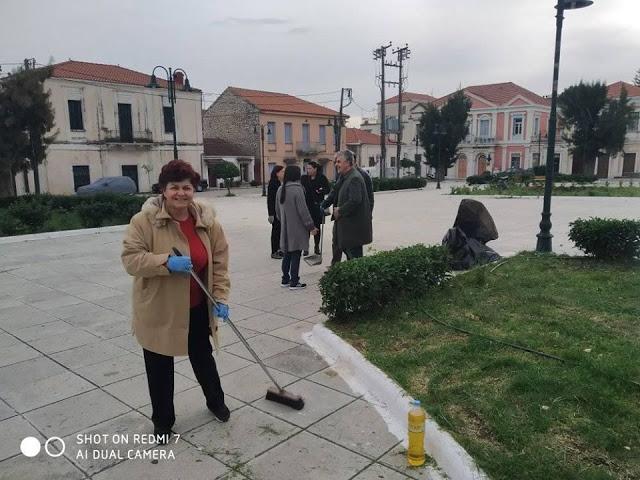 Δράση εθελοντικού καθαρισμού της ΚΕΝΤΡΙΚΗΣ ΠΛΑΤΕΙΑΣ στον ΑΣΤΑΚΟ - [ΦΩΤΟ] - Φωτογραφία 5