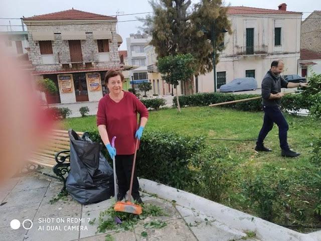 Δράση εθελοντικού καθαρισμού της ΚΕΝΤΡΙΚΗΣ ΠΛΑΤΕΙΑΣ στον ΑΣΤΑΚΟ - [ΦΩΤΟ] - Φωτογραφία 6