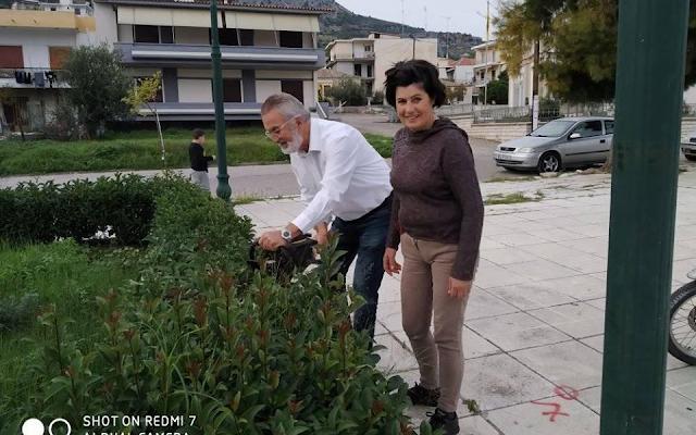 Παναγιώτης Στάϊκος με αφορμή τη δράση καθαρισμού της Πλατείας Αστακού: -Γιατί η ζωή είναι γυναίκα!!! - Φωτογραφία 1